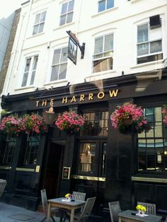 The Harrow, a fullers pub. Whitefriars st, EC4