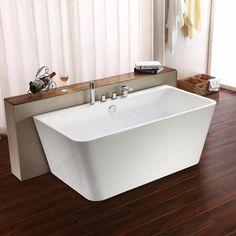 1700 x 750 x 580 mm eyre square bathroom freestanding acrylic bath tub