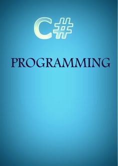 C# Programming - The C# Programming Language is an object-oriented programming language developed by Microsoft as part of the .NET initiative. This book will discuss and explain this powerful language.