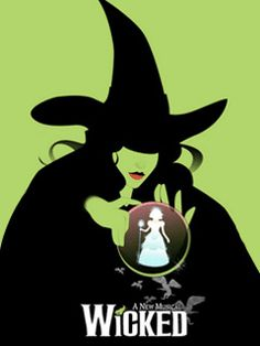 Wicked the Musical - I'm looking forward to seeing this in April with my favorite red head. ;)