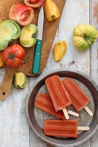 Bloody Mary Pops for Summer Afternoons. (For Grown-Ups Only)