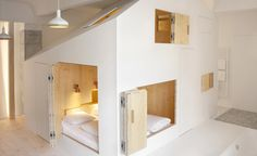 Is it a house in a room? Or a room in a house? Taking the phrase 'a home from home', quite literally, Berlin's Michelberger Hotel's newest suite, Room 304, is an explorative and transformative space built to resemble a temporary house, and feat...