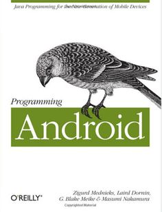 Programming Android  This book will explain you how to make a great Android apps even if you are an intermediate programmer, if you are an advanced one it will be useful for increasing your knowledge level clarifying lots of working nuances.  Read more: http://www.webdesign.org/web-design-basics/design-principles/web-design-books.21145.html