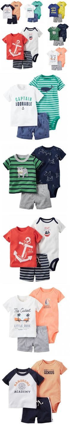 Retail 2016 new arrival caca boy 3 pcs set blue T-shirt and white shorts baby clothing newborn suit Free Shipping