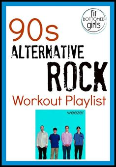 Bust out your Discman and get ready to rock out with this high-energy 90s workout playlist! | Fit Bottomed Girls