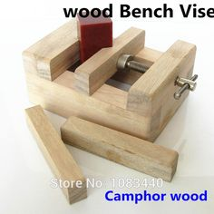 Luxury Pure Camphor wood Copper Rod Wood working Tools mini Table Bench Vise for wood working Stone Wood Clamp-on Tools Metal Tools, Wood Tools, Diy Tools, Woodworking For Kids, Woodworking Clamps, Woodworking Projects, Bench Vise, Table Bench, Homemade Tools