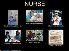 nursing...what i actually do