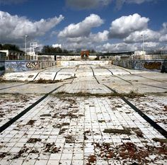 Once an Abandoned pool now Hillingdon outdoor lido part of Fusion lifestyle.