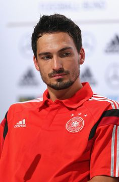Mats Hummels - Germany Training & Press Conference - 2014 FIFA World Cup Brazil