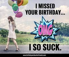 Portfolio Archive - Page 8 of 8 Belated Birthday Meme, Late Birthday Wishes, Happy Late Birthday, Birthday Wishes And Images, Happy Birthday Beautiful, Happy Birthday Quotes, Happy Birthday Cards, Birthday Greetings, Wishes Images