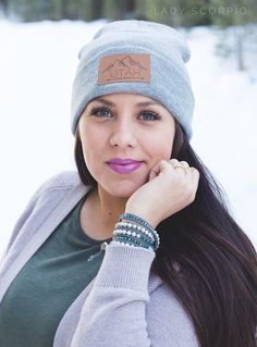 Let's explore in the beaUTAHful mountains :heart:  Save 25% off all orders with code PINTERESTXO at checkout | Utah Live Elevated Collection and Everwear Bracelet by Lady Scorpio | Shop Now LadyScorpio101.com | @LadyScorpio101 | Photography by Luna Blue