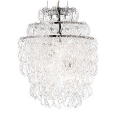 The Giogali Chandelier, designed in 1967, is one of the most iconic Modern Chandelier designs.