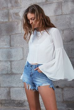 IN THEORY TOP ivory