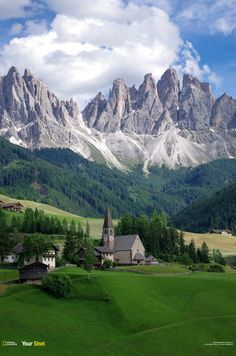 The Valley of Funes in the Italian Dolomites