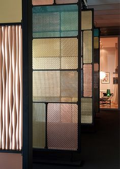 Love these creative panel designs Reminds us of LOF&; Love these creative panel designs Reminds us of LOF&; Barbara Room Divider Love these creative panel designs Reminds us […] Divider screen space dividers Metal Room Divider, Room Divider Screen, Room Screen, Partition Screen, Partition Design, Screen Doors, Metal Screen, Glass Screen, Interior Architecture