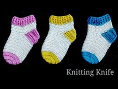 How To Crochet Perfect Shaped Baby Socks .- How To Crochet Perfect Shaped Baby Socks 🧦. Easy Tutorial – Crochet Baby Dre… How To Crochet Perfect Shaped Baby Socks 🧦. Crochet Socks Tutorial, Baby Shoes Tutorial, Crochet Baby Socks, Crochet Bebe, Crochet Baby Clothes, Crochet For Boys, Crochet Slippers, Booties Crochet, Newborn Crochet