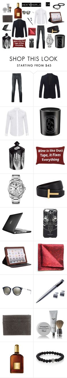 MENS WORLD by ines-varela-haillot on Polyvore featuring Loewe, Dolce&Gabbana, Burberry, Cartier, Christian Dior, Etro, Tom Ford, Latico, Marcelo Burlon and Tyler & Tyler