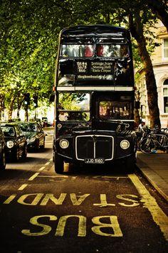 London Bus to Trafalgar Square