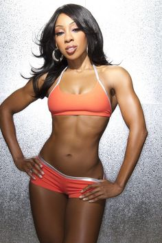 Dont believe the stereotypes most black women work out.  We are not all fat!