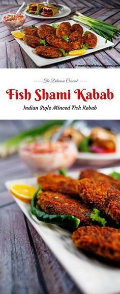 Fish Shami Kabab - Crispy On The Outside, Soft And Spicy In The Center, These Scrumptious Flavor Rich Patties Are An Excellent Snack Or Appetizer. What's more, They Provide A Good Amount Of Protein And Healthy Fats. Via Tdcrescent Best Seafood Recipes, Fish Recipes, Indian Food Recipes, Appetizer Recipes, Low Carb Recipes, Vegetarian Recipes, Snack Recipes, Appetizers, Healthy Recipes