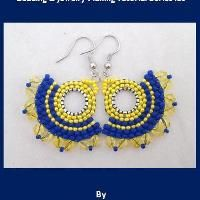 Jewelry: Iris Beaded Earrings Tutorial l26