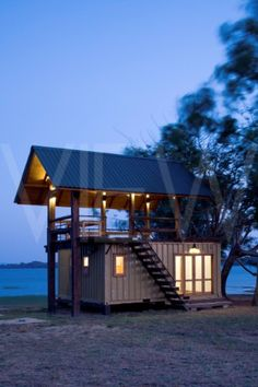 Holiday Cabana Maduru Oya Sri lanka Damith Premathilake Architecture Lake House using shipping conta