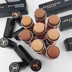 anastasia beverly hills foundation sticks. perfect for contouring.