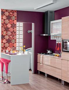 Cozinha americana prática e charmosa por 10 x R$ 505 - Casa