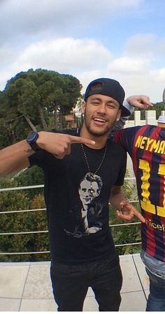 Feel bad for the guy who got cut out , but I am pretty sure Neymar looks better than him
