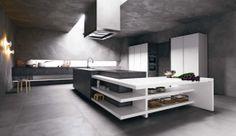 Elle di Cesar: eleganza contemporanea. #cesarcucine #cucine #rovere #arredamento #design #kitchen #unicolor