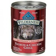 Grange Co-op: BLUE Adult DogWilderness®Salmon & Chicken Grill 12.5 oz Can