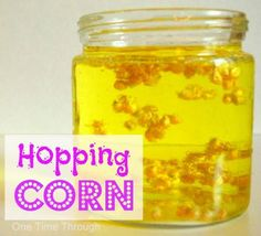 Hopping Corn Experiment