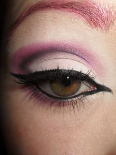 Love the eyeliner, not completely sold on the shadow....