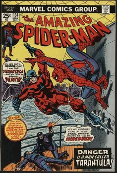 AMAZING SPIDER-MAN #134 THE PUNISHER APPEARS! NM- GLOSSY CENTS