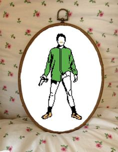 Walter White Breaking Bad Cross Stitch by plasticlittlecovers