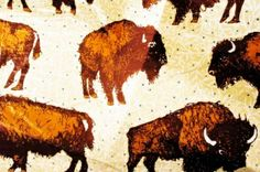 Cowboys, buffaloes and batik | The Jakarta Post  Buffalo design batik