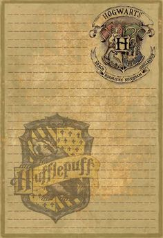 Hufflepuff Stationery by Sinome-Rae on DeviantArt : Title says it all really. Agenda Harry Potter, Harry Potter Letter, Magia Harry Potter, Harry Potter Journal, Deco Harry Potter, Harry Potter Classroom, Mundo Harry Potter, Harry Potter Room, Harry Potter Birthday