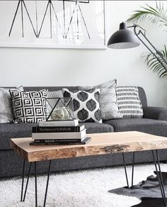 How To Make a Small Living Room Look Bigger - Tiny space? Suffer no more: Here . How To Make a Small Living Room Look Bigger - Tiny space? Suffer no more: Here are all our favorite hacks for making your small living room feel - room decor Home Living Room, Apartment Living, Living Room Designs, Cozy Apartment, Apartment Nursery, Apartment Ideas, Scandi Living Room, Nursery Office, Apartment Design