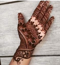 Henna Tattoo Designs Images - 100 Wedding Henna Designs on Hand for Brides. this is the best henna tattoo images collection with various pattern Wedding Henna Designs, Peacock Mehndi Designs, Indian Mehndi Designs, Mehndi Designs 2018, Modern Mehndi Designs, Mehndi Design Pictures, Mehndi Designs For Beginners, Mehndi Designs For Girls, Mehndi Designs Book