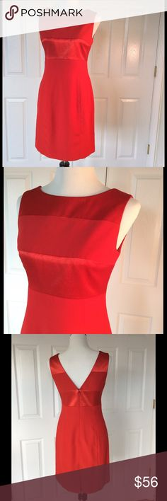 "Red Papell Boutique Dress 🎉HP🎉 Gorgeous red special occasion dress. Fully lined. Hidden back zipper. Excellent pre-owned condition. Worn once. 36"" bust 30"" waist 37"" hip length from shoulder is 34.5"". Pictured heels are listed separately  🌼Fabric: polyester; acetate lining  🎀Bundle discount  ⭐️5 star rated Suggested User 🚭Smoke free home 🚫No trades please  😍 Thank you for shopping with me. Please ask all questions before purchase 😊 HP by @kimsklothes @vanessapaulla Papell Boutique…"