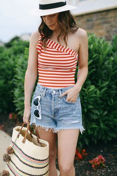 A Little Bit etc.: Pool Day + 4th of July Outfit Ideas Pool Day Outfits, 4th Of July Outfits, Summer Outfits, Party Outfits, High Level, Fashion Outfits, Womens Fashion, Fashion Trends, Prep Fashion