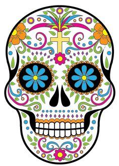 Calavera skull tutorial for Adobe Illustrator