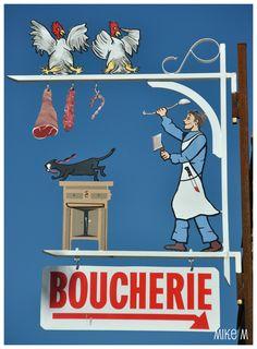 """*Enseigne """"Boucherie""""*"""