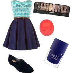 Untitled #11 by martinastylee on Polyvore featuring polyvore fashion style Isaac Mizrahi River Island Nails Inc.