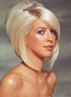 bouffant bob hair - Google Search