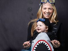 Be the talk of the deep seas with this frightfully cute shark costume.