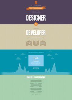#flat #webdesign