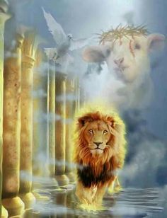 The Lion of Judah!! The Lamb of God!! The Dove of The Holy Spirit!! Yesss!!