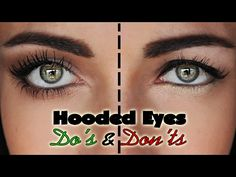Learn how to apply eye makeup for hooded eyes with 6 tutorials that are packed with step-by-step tips to get the perfect cut crease, dome shape, soft smokey socket, and winged eyeliner. Perfect for Asian eyelids and Jennifer Lawrence lookalikes! Eye Makeup Steps, Eye Makeup Art, Beauty Makeup, Makeup Eyeshadow, Droopy Eye Makeup, Face Makeup, Maybelline Makeup, Eyeshadow Base, Eyebrow Makeup
