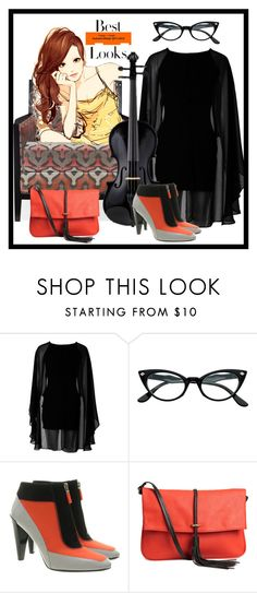 """""""Best Look"""" by bren-johnson ❤ liked on Polyvore featuring Bernhardt, Kenzo, H&M and MML"""